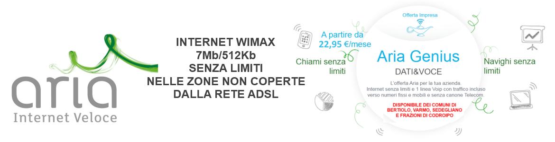 ADSL Aria Wimax Azienda