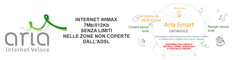 ADSL Aria Wimax Casa