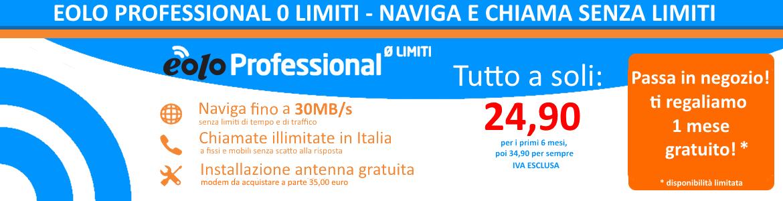 EOLO Professional 0 Limiti